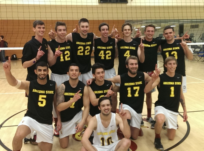 ASU Mens Volleyball Club 2014